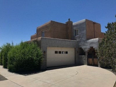 Santa Fe Single Family Home For Sale: 2864 Pueblo Bonito