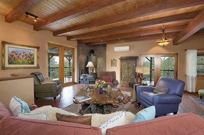 Santa Fe Single Family Home For Sale: 15 Lightning Ridge Road