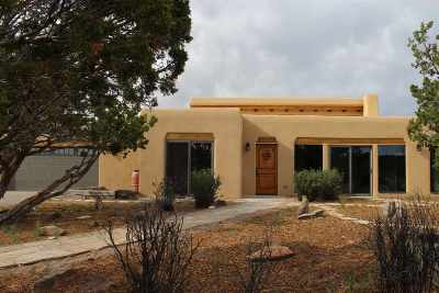 Santa Fe Single Family Home For Sale: 7 Gavilan