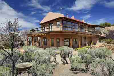 Tesuque NM Single Family Home For Sale: $699,000