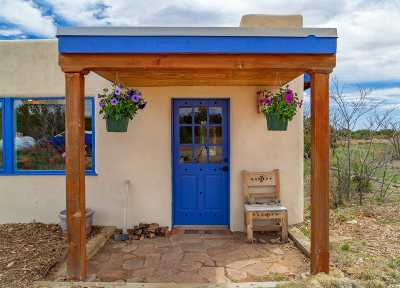 Santa Fe County Single Family Home For Sale: 24 Grenfell Ranch Road