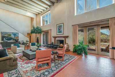 Santa Fe NM Single Family Home For Sale: $1,885,000