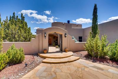 Santa Fe Single Family Home For Sale: 44 Paseo Del Antilope