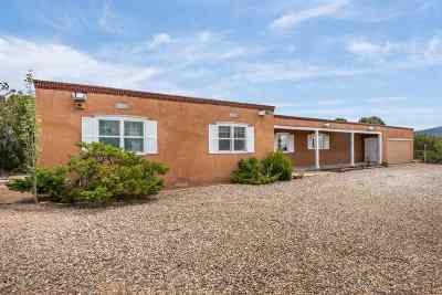Santa Fe Single Family Home For Sale: 1101 Old Taos Highway