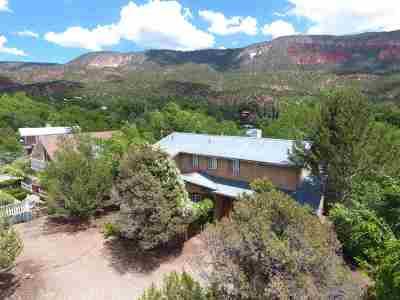 Jemez Springs Single Family Home For Sale: 317 Mooney Blvd