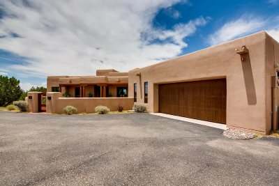 Santa Fe Single Family Home For Sale: 5 Punta Del Cazador