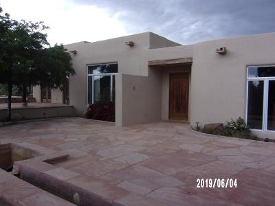 Santa Fe County Single Family Home For Sale: 14 Miners Trail