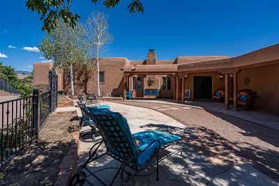 Santa Fe NM Single Family Home For Sale: $1,535,000