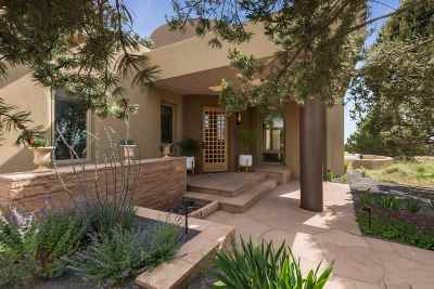Santa Fe NM Single Family Home For Sale: $1,650,000