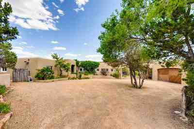 Santa Fe Single Family Home For Sale: 1207 Bishops Lodge Road