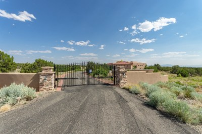 Santa Fe Single Family Home For Sale: 15 Capital Peak
