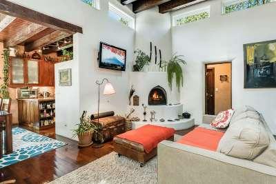 Santa Fe Single Family Home For Sale: 126 & 128 Quintana St