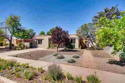 Santa Fe Single Family Home For Sale: 212 Las Mananitas