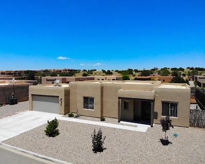Santa Fe Single Family Home For Sale: 3 Canto Del Pajaro