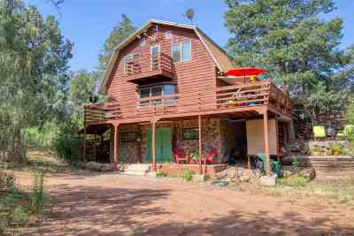 Jemez Springs Single Family Home For Sale: 760 San Diego Loop