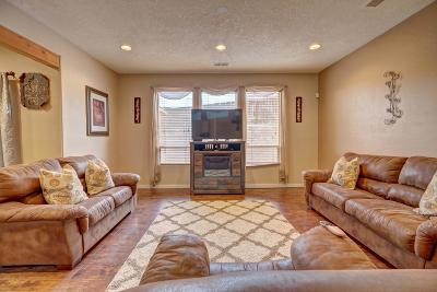 Santa Fe County Single Family Home For Sale: 6950 Golden Mesa