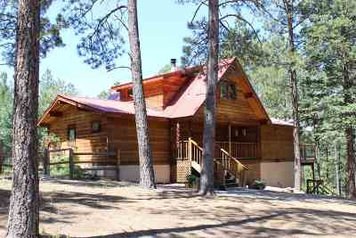 Jemez Springs Single Family Home For Sale: 88 Los Griegos