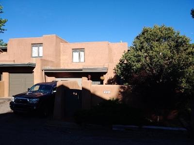 Santa Fe NM Condo/Townhouse For Sale: $399,000