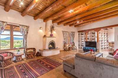 Santa Fe Single Family Home For Sale: 784 A Camino Los Abuelos