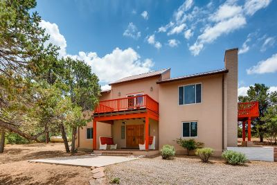 Santa Fe Single Family Home For Sale: 45 Caminito De Pinon