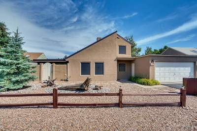 Santa Fe Single Family Home For Sale: 1089 Willow Way