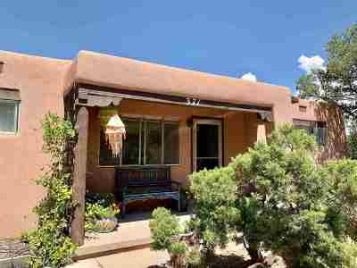 Santa Fe Single Family Home For Sale: 371 E. San Mateo