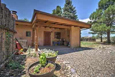 Santa Fe Single Family Home For Sale: 19 La Luz De Cristo (Lot 2)