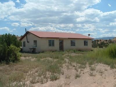 Rio Arriba County Single Family Home For Sale: Corner Of Apache & Toro