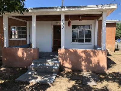 Single Family Home For Sale: 800 W Don Filigonia