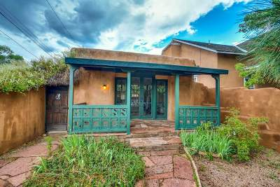 Santa Fe NM Single Family Home For Sale: $595,000