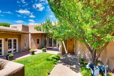 Santa Fe NM Single Family Home For Sale: $1,525,000