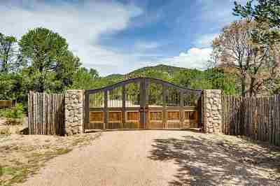 Santa Fe Single Family Home For Sale: 7441 Old Santa Fe Trail
