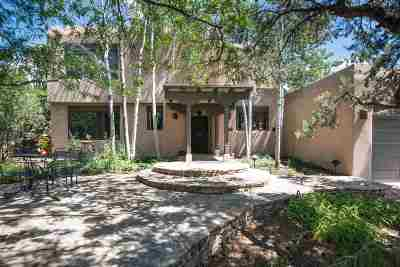 Santa Fe NM Single Family Home For Sale: $660,000