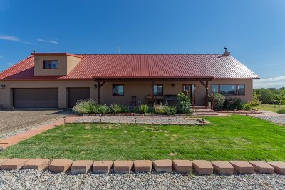 Santa Fe Single Family Home For Sale: 3650 Highway 14