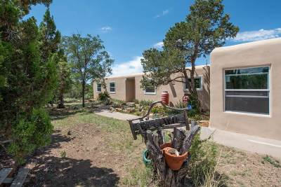 Santa Fe NM Single Family Home For Sale: $540,000