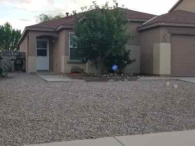 Rio Rancho Single Family Home For Sale: 6628 NE Shiprock Drive