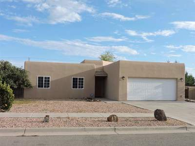 Santa Fe Single Family Home For Sale: 3512 Placita Real Loop