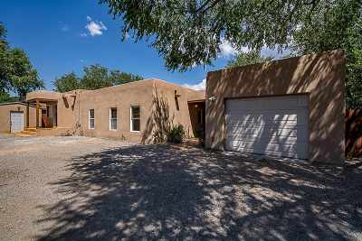 Santa Fe Single Family Home For Sale: 113 Caminito Montano #B &