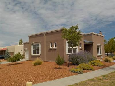 Santa Fe County Single Family Home For Sale: 1 Red Bluff Draw