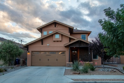 Santa Fe County Single Family Home For Sale: 5279 Via Del Cielo