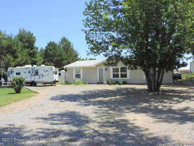 Bloomfield Manufactured Home For Sale: 18 Road 5413