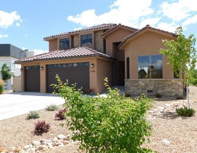 Single Family Home For Sale: 6405 Hawk Eye Street