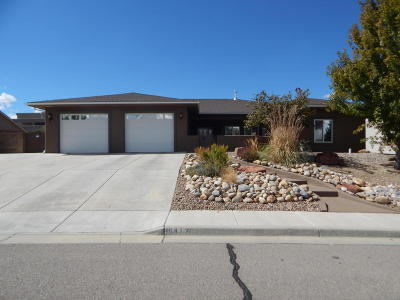 Single Family Home For Sale: 6413 Red Rock Court