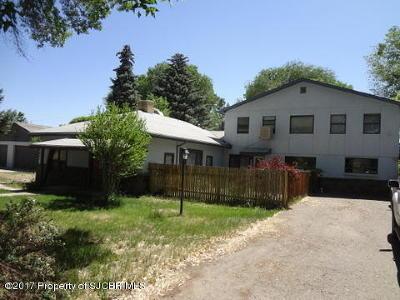 Aztec, Flora Vista Single Family Home For Sale: 404 N Mesa Verde Avenue