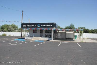 San Juan County Commercial For Sale: 1600 San Juan Boulevard