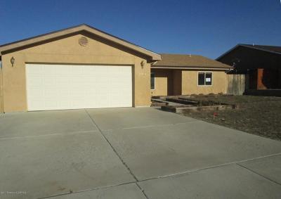 Aztec, Flora Vista Single Family Home For Sale: 3308 J F Scott Drive
