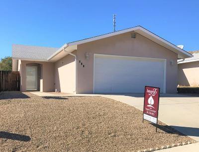 Single Family Home For Sale: 811 N Cholla Street