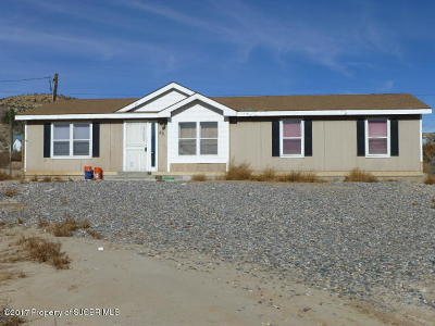 Navajo Dam Manufactured Home For Sale: 46 Road 4275