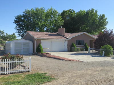Single Family Home For Sale: 3 Road 3494