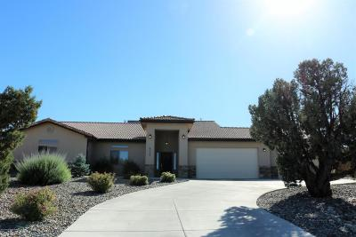 Single Family Home For Sale: 6456 Castle Rock Circle